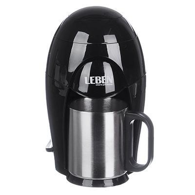 Кофеварка капельная LEBEN 400 Вт, на одну чашку, 150 мл 286-033