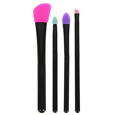 Кисти силиконовые для макияжа ЮниLook, 4 шт