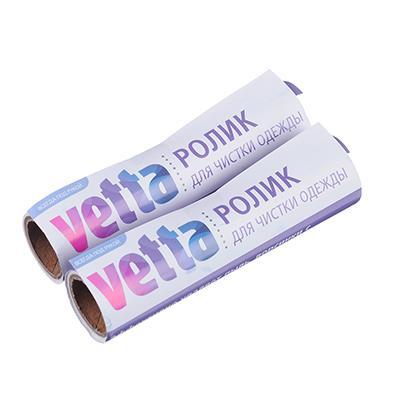 VETTA Сменный блок для складного ролика для чистки одежды, 2 шт, 20 листов