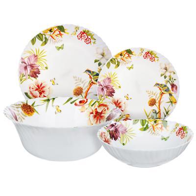 MILLIMI Рио Набор столовой посуды 19 пр., опаловое стекло, 16194A