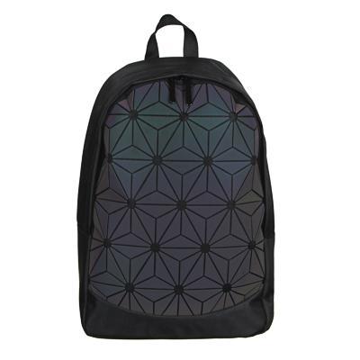 Рюкзак подростковый, 41x29x14см, ПЭ, 1 отд, светоотраж.пластик. передняя панель