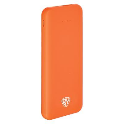 Аккумулятор мобильный FORZA, 4000 мАч, USB, 2А, прорезиненное покрытие, пластик, 4 цвета