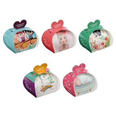 Соль шипучая ароматизированная в подарочной коробке