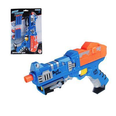 ИГРОЛЕНД Мега-бластер с поролоновыми пулями, 7 предметов, ABS, 31х21,5х5см