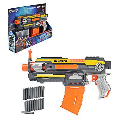 ИГРОЛЕНД Оружие автоматическое с поролоновыми пулями, 4АА, ABS, 47х32х8см