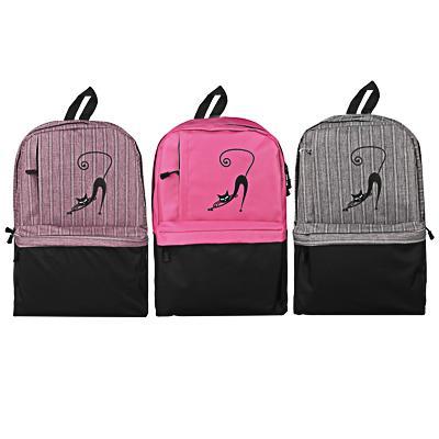 Рюкзак подростковый, 44x31x13см, 1отд, 1 карман, спинка из ЭВА, USB, полиэстер под ткань, 3 цвета