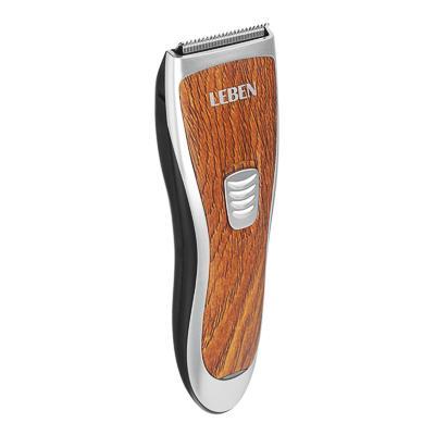 LEBEN Машинка для стрижки волос, 3 Вт, под дерево, регулируемая насадка 251-072