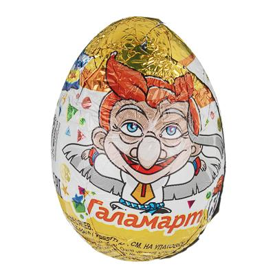 BY Шоколадное яйцо 20г