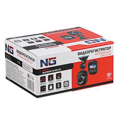 "NG Видеорегистратор Full HD, дисплей 1.5"", слот micro-SD, зарядка 12/24В 3.4М, пластик"