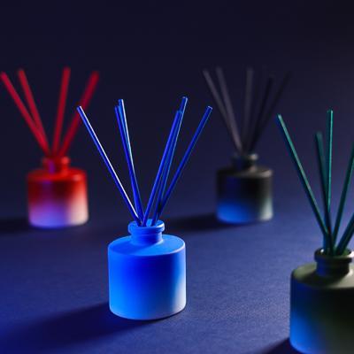 LADECOR Аромадиффузор с цветными палочками, LUX, 50 мл, 4 аромата