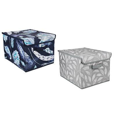 VETTA Санремо Кофр для хранения с крышкой, 30х40х25см, спанбонд, 2 дизайна