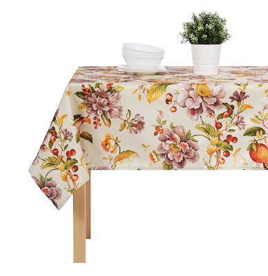 PROVANCE Гармония Скатерть текстильная с водоотталкивающей пропиткой, 140x140см, 100% ПЭ, 4 дизайна