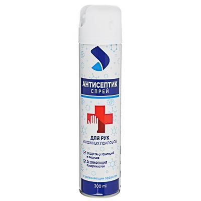 Спрей для рук и кожных покровов антисептический, 300мл