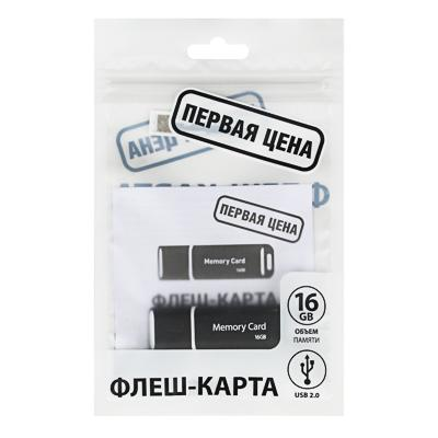 FORZA Флеш-карта 16гб, USB2.0, класс 4, пластик