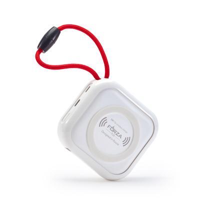 FORZA Аккумулятор мобильный, 10000 мАч, 2xUSB, 2А, с беспроводной зарядкой, Белый
