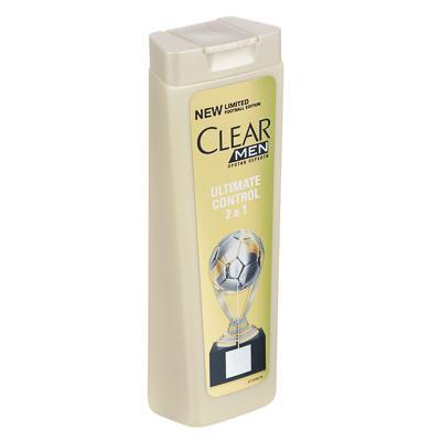 Шампунь и бальзам-ополаскиватель 2 в 1 для мужчин CLEAR против перхоти, 200мл, 67400169