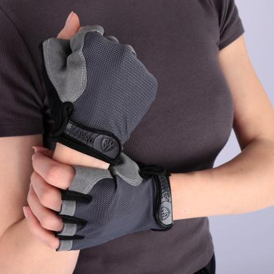 SILAPRO BY Перчатки спортивные, S и XL, полиэстер, антискользящие, вставка против пота