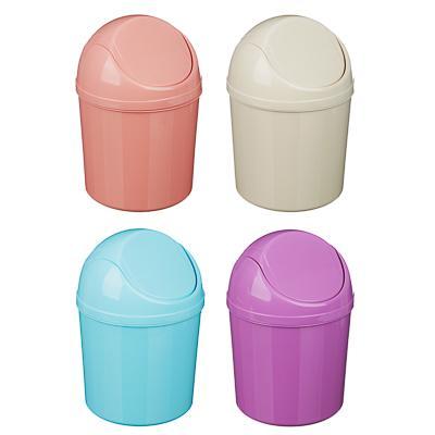 VETTA Контейнер для мусора настольный, пластик, 19x13см, 4 цвета