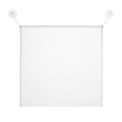 VETTA Органайзер подвесной на присосках для ванной комнаты, полиэстер, 37х37см
