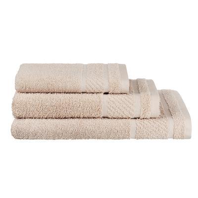 PROVANCE Виана Полотенце махровое, 100% хлопок, 70х130см, 450гр/м, бежевый