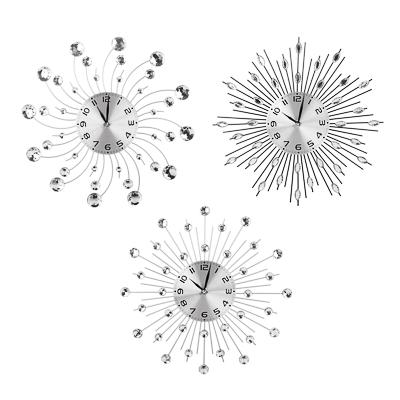 Часы настенные LUX, металл, 35см, 3 дизайна
