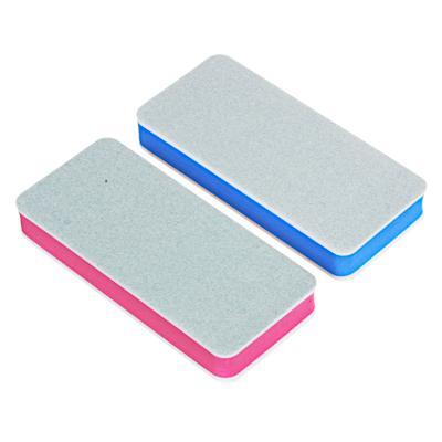 Бафик для ногтей 2-х сторонний ЮниLook, 320/600 грит, 8,8х4 см, 2 цвета