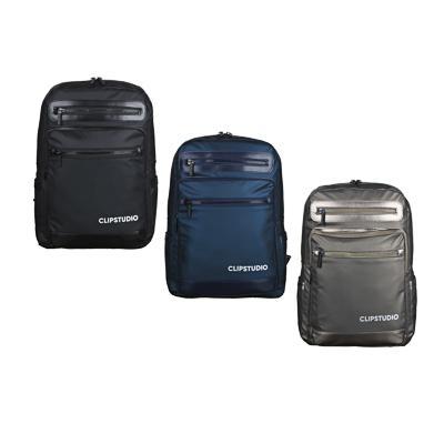 Рюкзак подростковый, 39x27x13см, 1 отд, 5 карм, многослойный водоотталк.нейлон, иск.кожа, 3 цвета