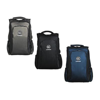 Рюкзак подростковый, 47x37x15см, 2 отд, 3 карм, многослойный водоотталк.нейлон, USB, 3 цвета