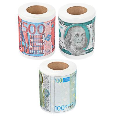 Сувенирная туалетная бумага, 3 вида