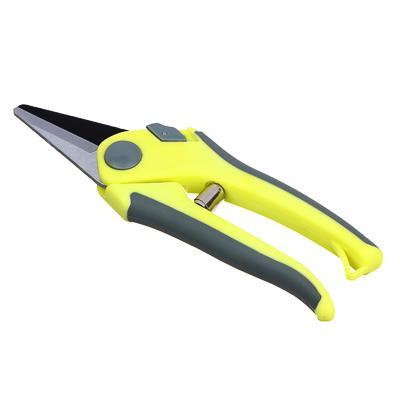 INBLOOM Секатор садовый, 200мм, прорезиненная антискользящая ручка, сталь 65М, оцинк.покрытие,PP+TPR