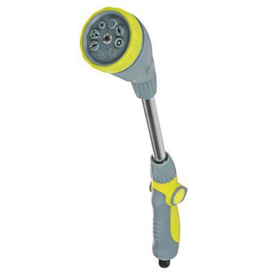 INBLOOM BY Пистолет-штанга садовый для полива, 8 режимов, регулировка давления, ABS+TPR+аллюм