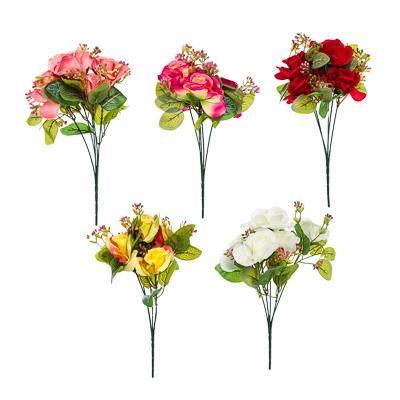 LADECOR Букет декоративный, 31см, пластик, полиэстер, 5 цветов