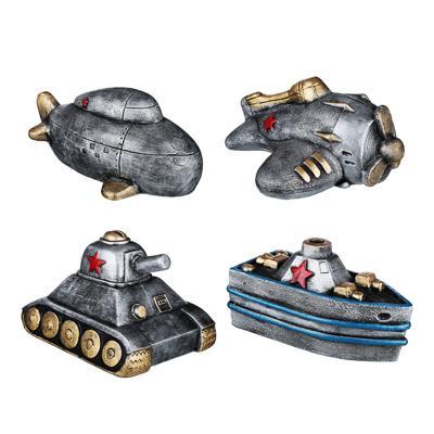 LADECOR Копилка в виде авто/мото, 20см, гипс, 4 дизайна