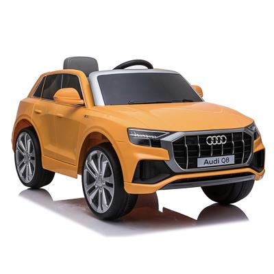 Электромобиль AUDI Q8, 3-5 км/ч, оранжевый