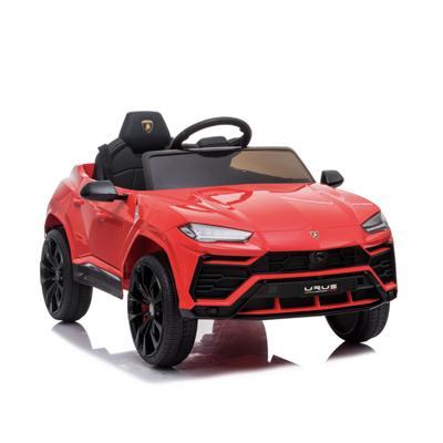 Электромобиль Lamborghini Urus, 2-4 км/ч, красный