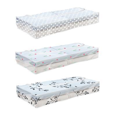 VETTA Винсент Кофр для хранения под кроватью подушек и одеял, ПЕВА, 102х45х15см, 2 дизайна