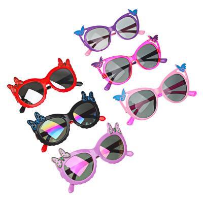 GALANTE Очки солнцезащитные детские, пластик, 124х37мм/130х41мм, 2 дизайна