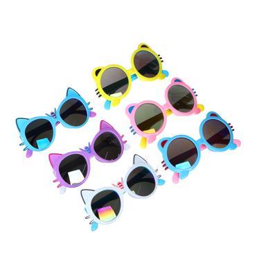 GALANTE Очки солнцезащитные детские, пластик, 122х41мм/116х44мм, 2 дизайна