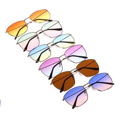 GALANTE Очки солнцезащитные для взрослых, пластик, металл, 142х47мм, 6 цветов
