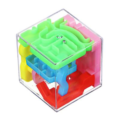 ИГРОЛЕНД Кубик головоломка Лабиринт, пластик
