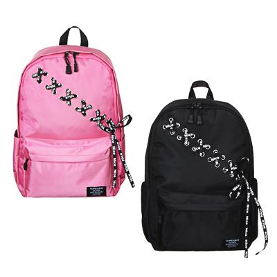 Рюкзак подростковый 43х30x13см, 1 отд., 4 карм., плотный полиэстер, декор