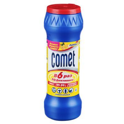 Порошок чистящий COMET Лимон с хлоринолом в банке 475г