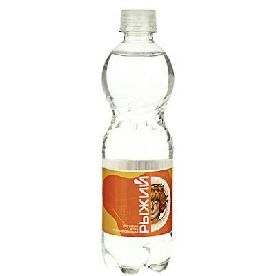 BY Рыжий Вода питьевая негазированная 0,5л