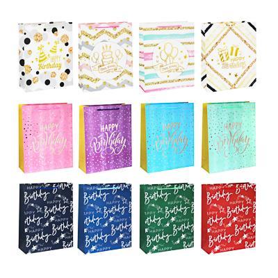 Пакет подарочный, высококачеств.бумага, глиттер, тиснение фольгой, 26х32х10см, арт О-08
