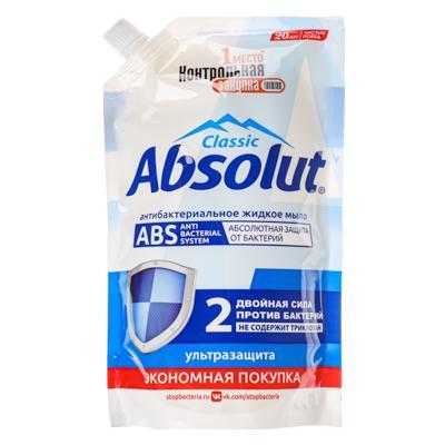 Мыло жидкое Absolut ABS ультразащита / алоэ, 440 г,арт.5199