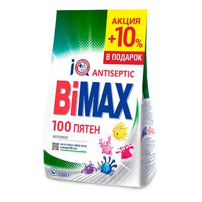 Стиральный порошок BiMax 100 пятен, 3,3 кг