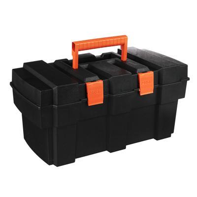 ЕРМАК Ящик для инструмента пластиковый с лотком 13