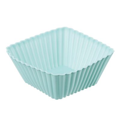 Набор форм для выпечки VETTA Кекс, 16 шт, 7х3 см, силикон - 1