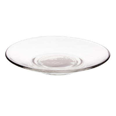 """Блюдце d.13 см, стекло, ОСЗ """"Гламур"""" - 1"""