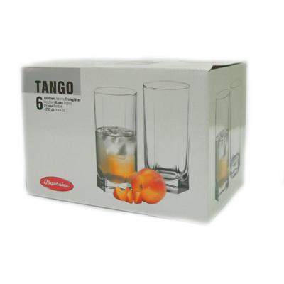 "Набор стаканов 6 шт 290 мл, PASABAHCE ""Танго"" 42942 - 1"